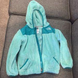 Toddler fleece north face jacket